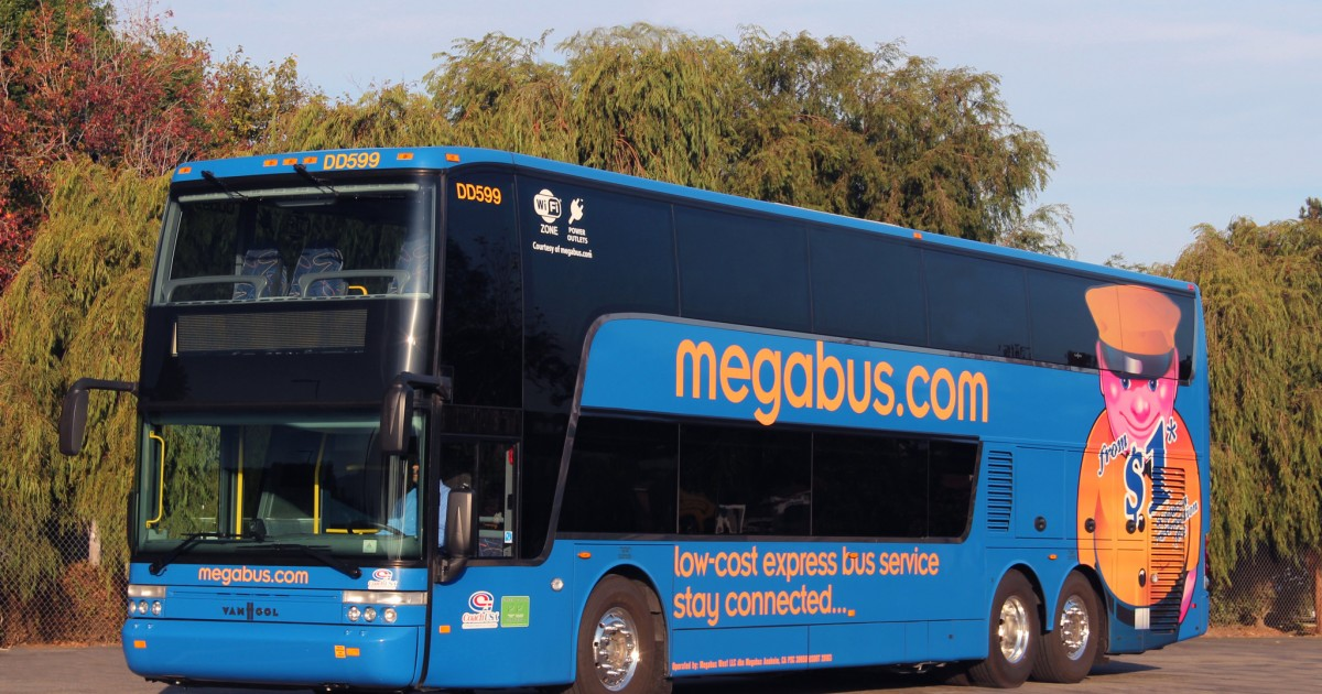 Megabus is giving away 200,000 free tickets on CyberMonday